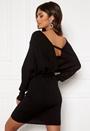 Knitted V Front Dress