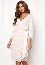 Carolina Gynning lace wrap dress