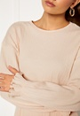 Elleny ribbed flounce sweater