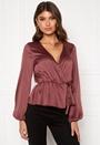 Mereen wrap blouse