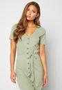 Tyra button dress