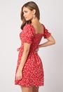 Violie puff sleeve dress