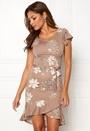 Abriana Flounce Dress