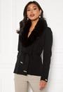 Arina heavy knit wrap jacket