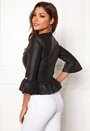 Corniglia fake leather jacket