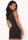 Sabine deep v dress