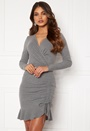 Sheila flounce rib dress