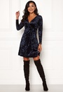 Sonnet Velvet Wrap Dress