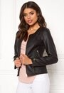 Sorrento faux leather jacket
