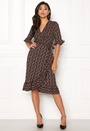 Pernille Flower Wrap Dress