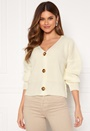 Aria 3 Button Long Sleeve Knit Cardigan