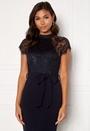 Lyla High Neck Lace Dress