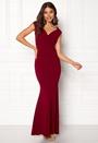 Bardot Pleat Maxi Dress