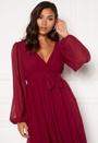 Chiffon Midi Dress