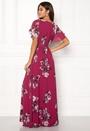 Floral Sleeve Maxi Dress