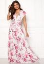 Multi Tie Maxi Dress