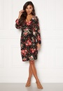 Amanda puff sleeve dress