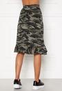 Sandy frill skirt