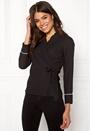 Tara wrap blouse