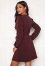 Lauren L/S Belt Dress