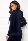 Velour Robertson Jacket With Charm