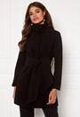 Wide belt coat