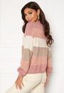 Atia L/S Stripe Pullover Knt