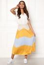 June Faux Suede Maxi Skirt