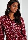 Nova Lux 3/4 Long Shirt Dress