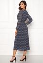 Star Maxi Chiffon Dress