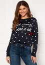 Xmas Bow L/S Pullover