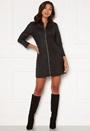 Roxy LS Zip Coated Dress