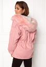Relaxed Parka Fur Hood