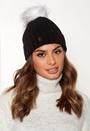 Hat Pom Pom Beanie Knit