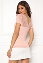 Vic S/S Deep Backlace Top