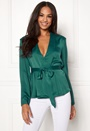 Grace L/S Belted Top