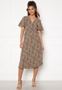 Lovie S/S Wrap Midi Dress
