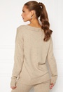 Ril Oversize V-Neck Knit Top