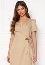 Sille S/S Wrap Midi Dress