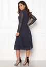 Vilda Highneck Mesh Dress