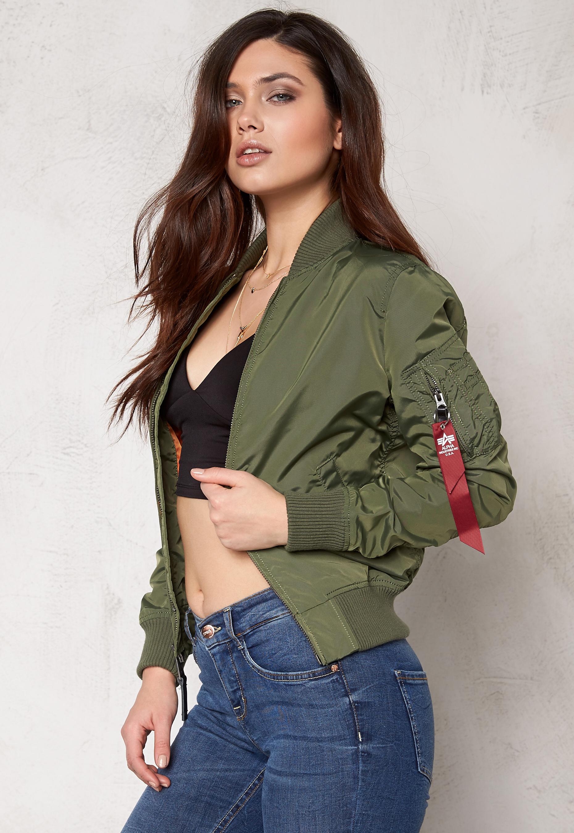 Alpha Industries MA 1 TT Jacket (Dame)