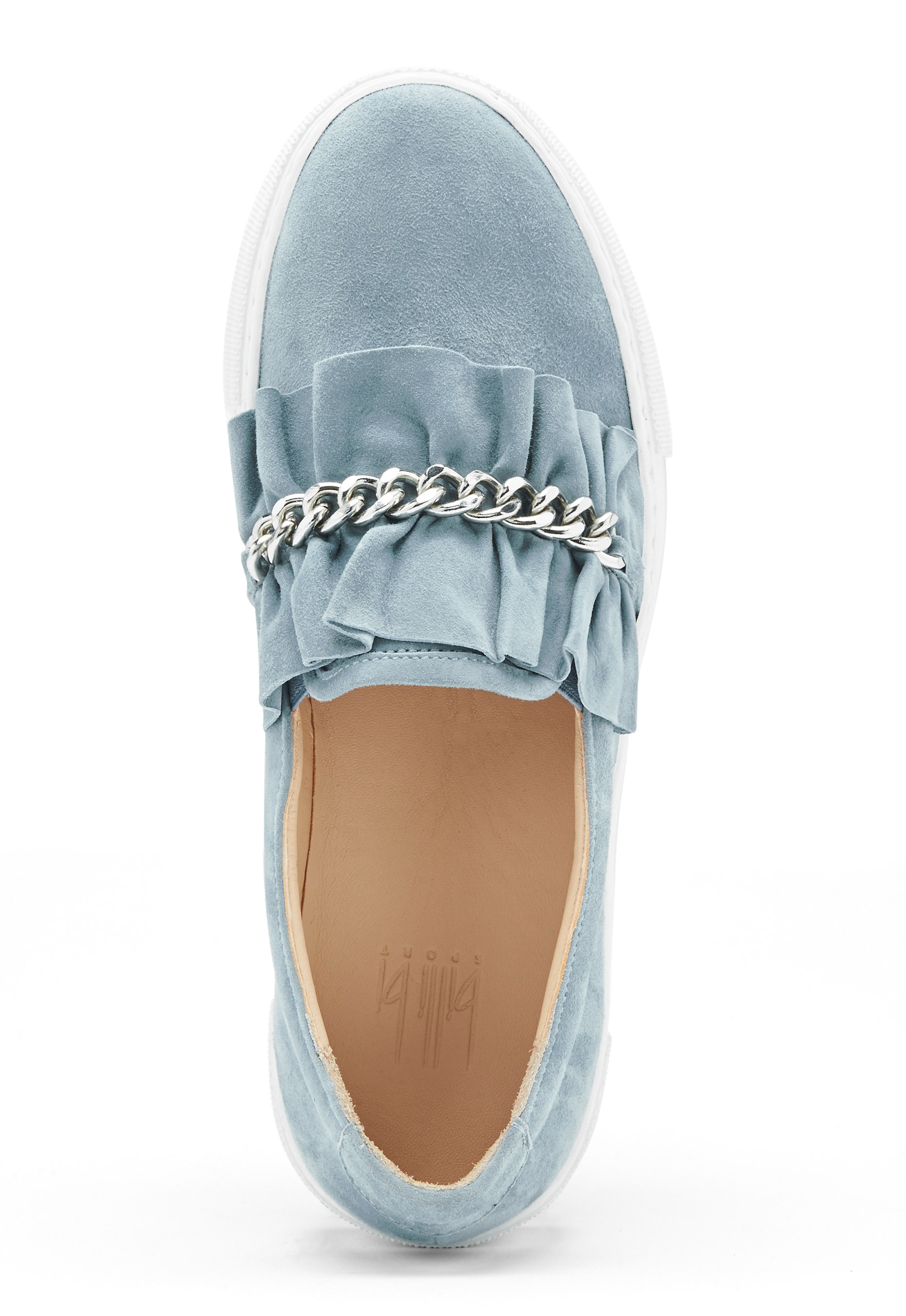 Billi Bi Suede Sneakers Lightblue Bubbleroom