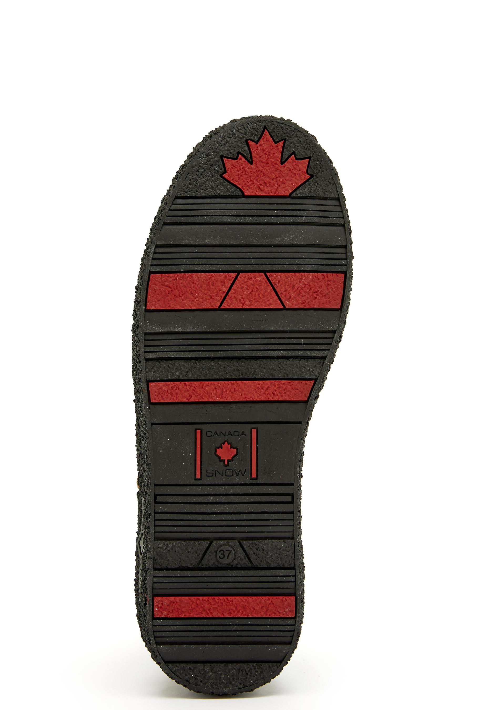Canada Snow Mount V. Zip Boots Black Bubbleroom