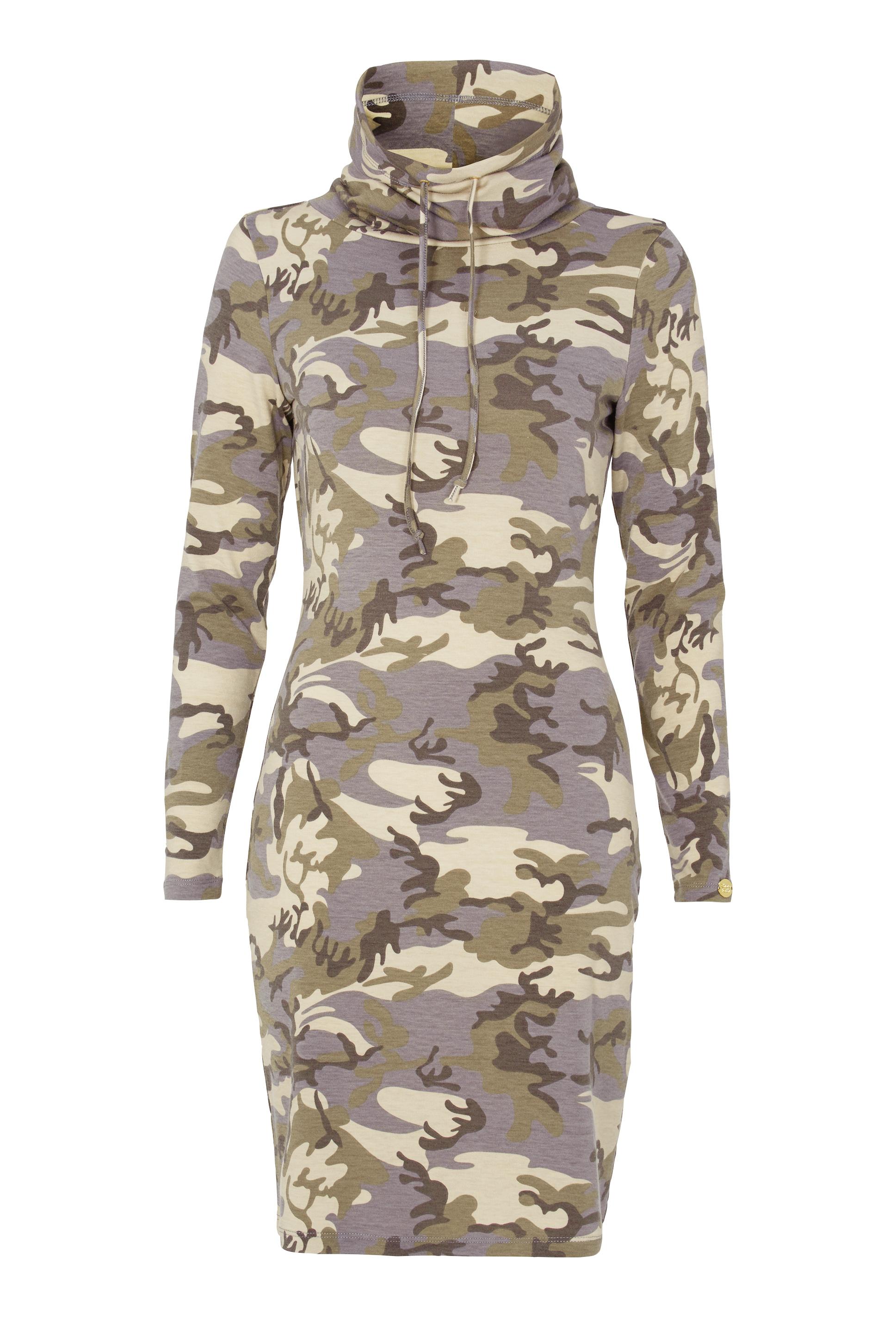 Chiara Forthi Camo lounge dress Camouflage Bubbleroom