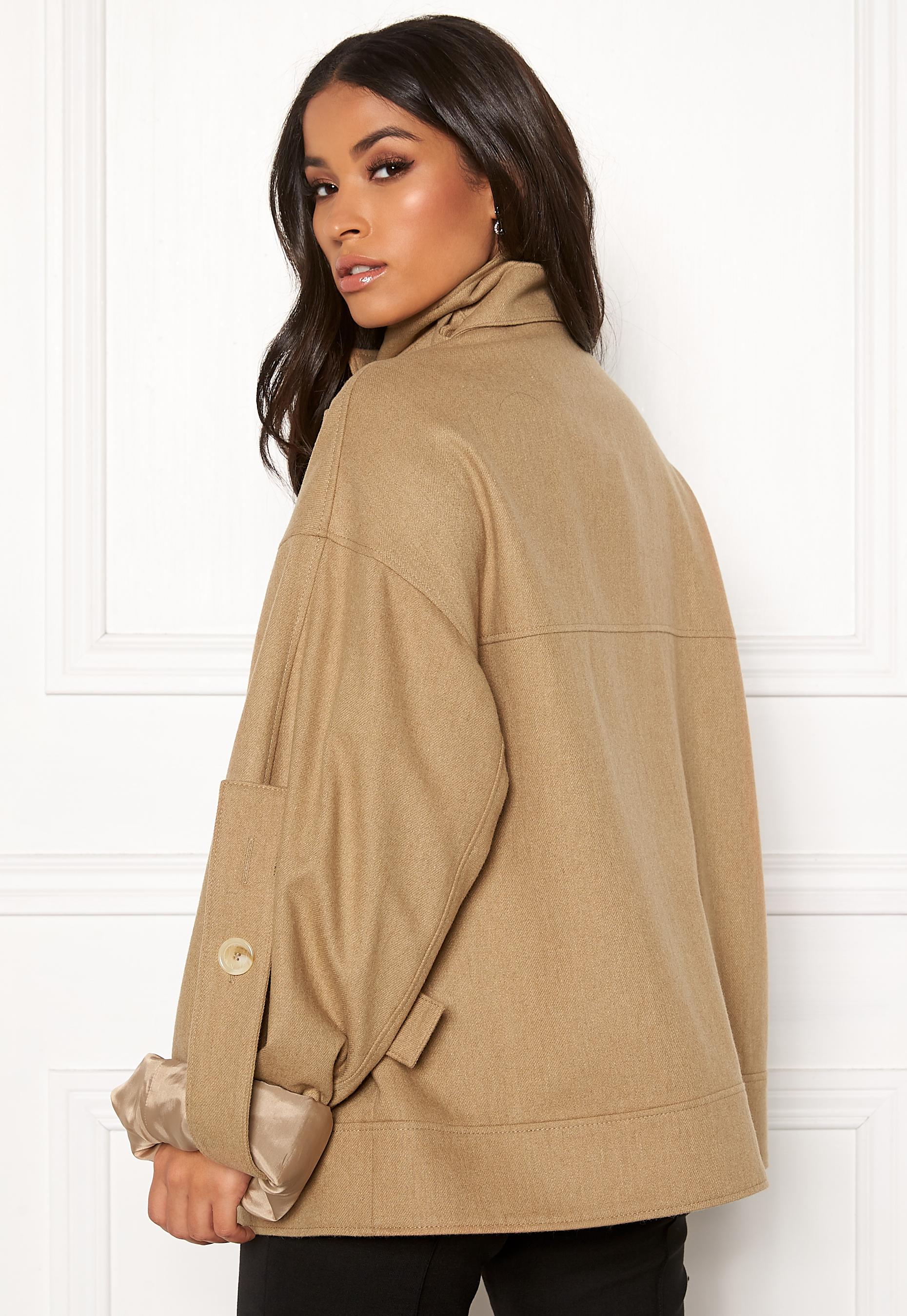 DAGMAR Jaqueline Jacket Camel Bubbleroom