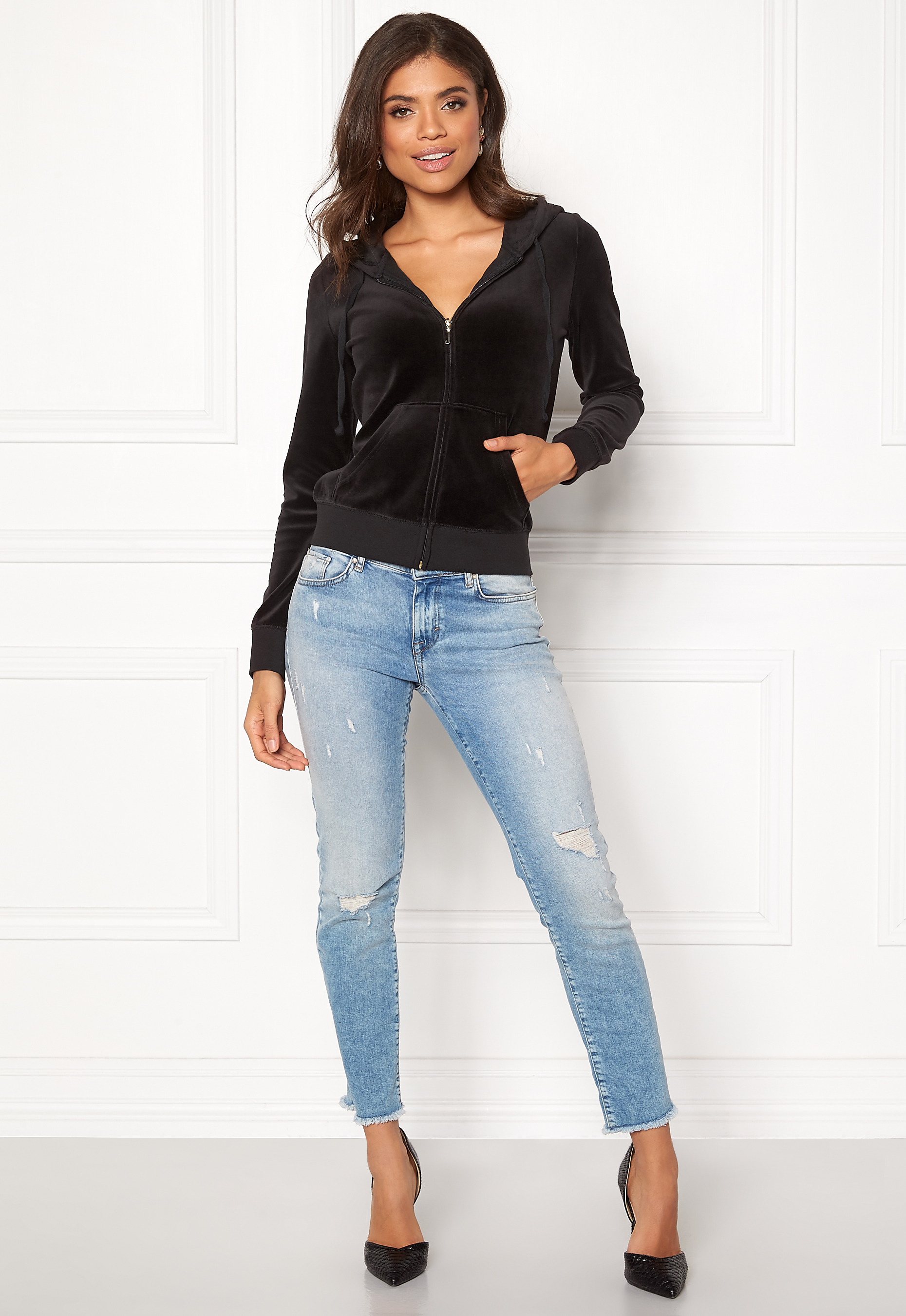 Sort Robertson Jacket Jogge | Juicy Couture | Gensere