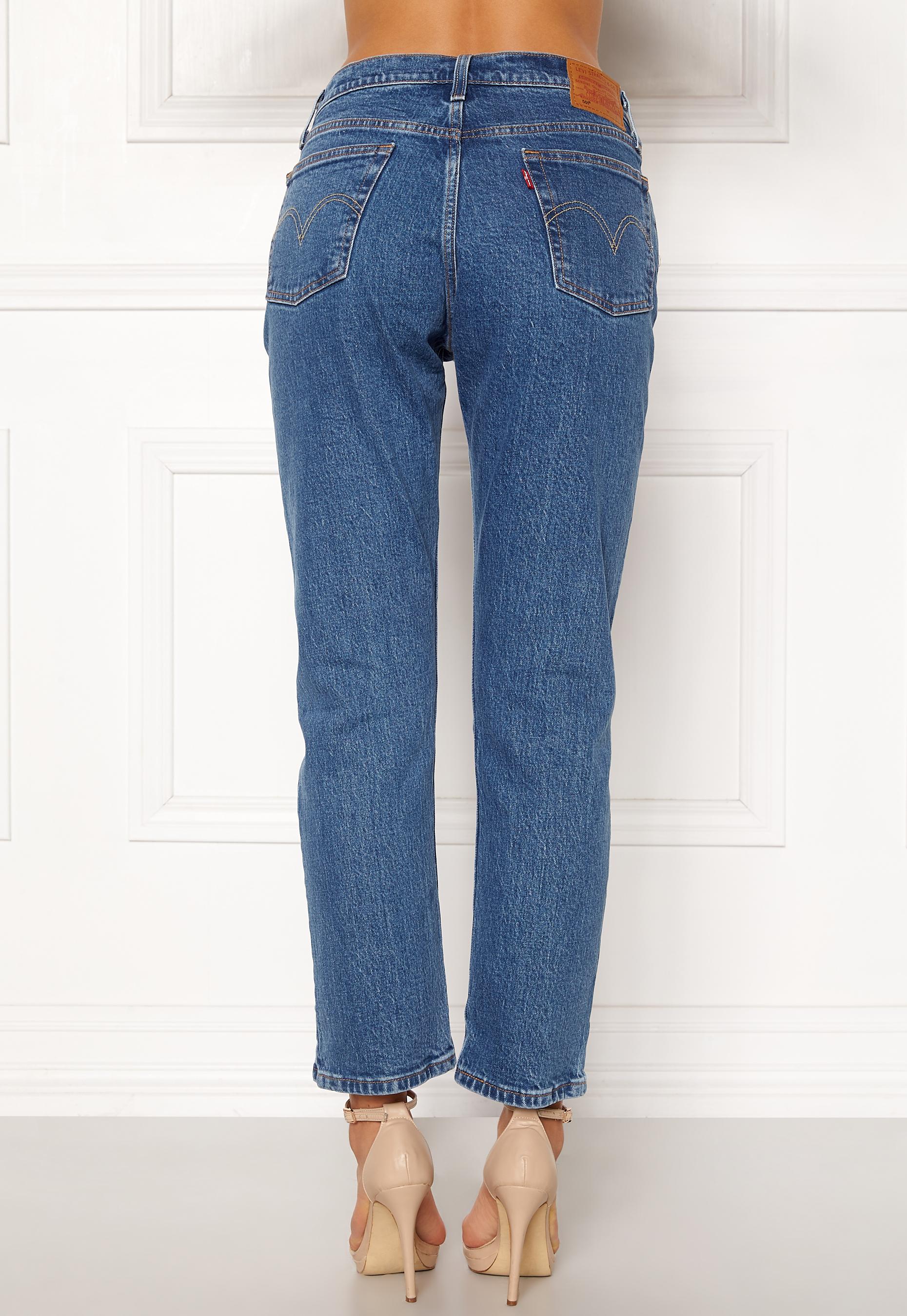 Levi's Jeans 501 Crop Jive Stonewash