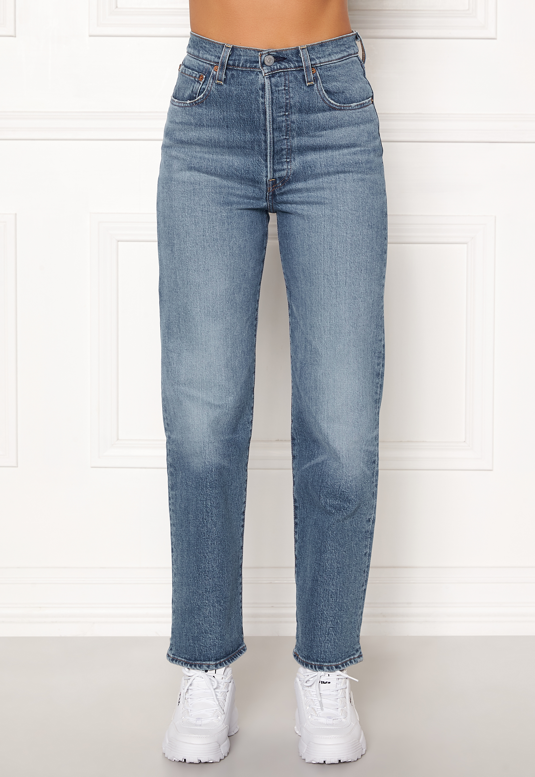 LEVI'S Ribcage Straight Ankle Jeans 0019 Jive Swing Bubbleroom