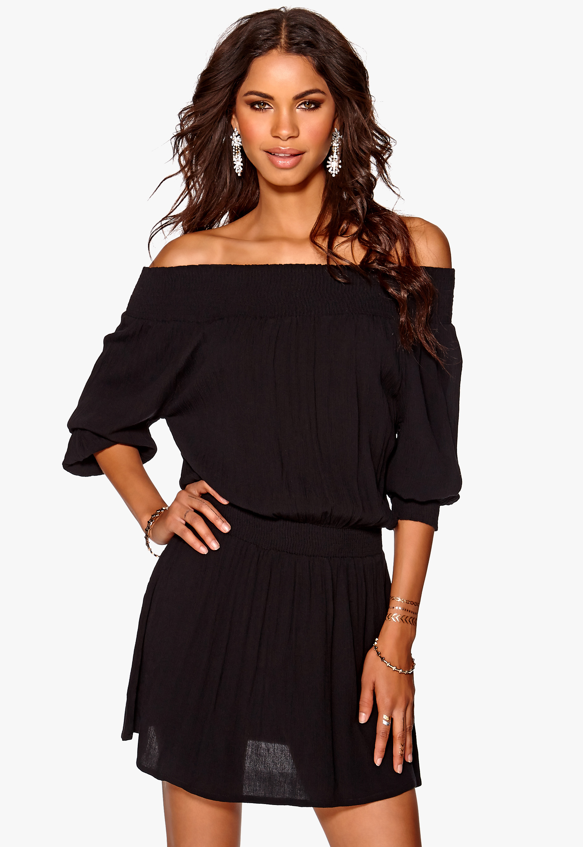962e56cc Make Way Daphne Dress Black - Bubbleroom