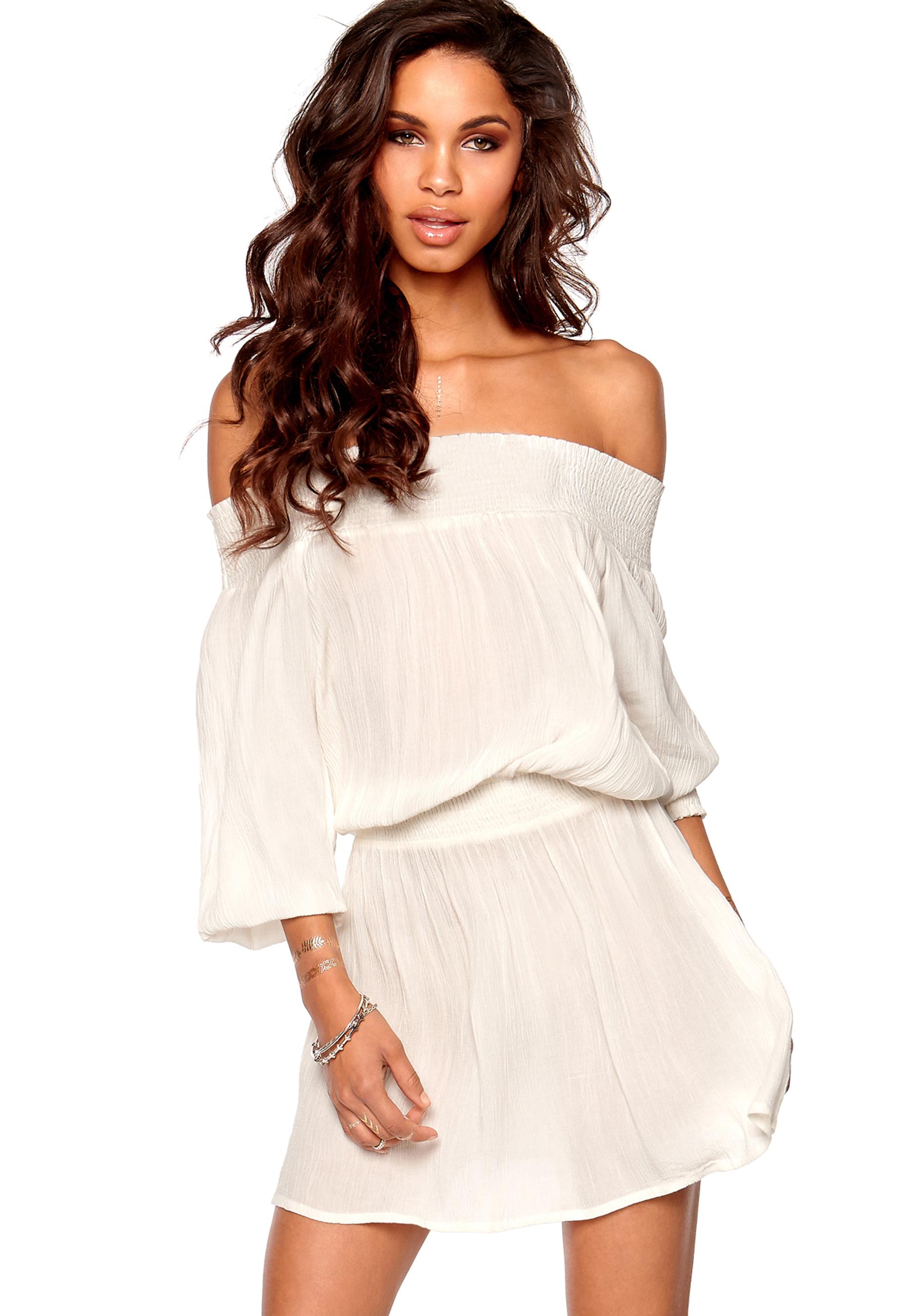 49dc1bb3 Make Way Daphne Dress White - Bubbleroom